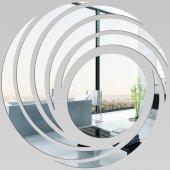 Miroir Acrylique Plexiglass Spirales Design