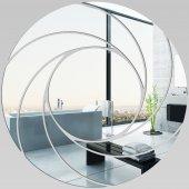 Miroir Acrylique Plexiglass Spirales Design 4