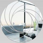 Miroir Acrylique Plexiglass Spirales Design 5