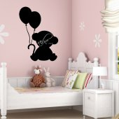 Monkey - Chalkboard / Blackboard Wall Stickers
