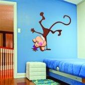Monkey Wall Stickers