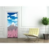 Mountain Door Stickers