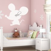 Mouse - Whiteboard Wall Stickers