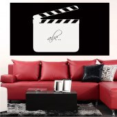 Movie Clapper - Whiteboard Wall Stickers