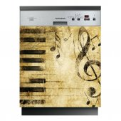 Musical Notes - Dishwasher Cover Panels