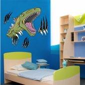 Naklejka ścienna Dla Dzieci - Atak Dinozaura