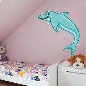 Naklejka ścienna Dla Dzieci - Delfin