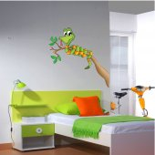Naklejka ścienna Dla Dzieci - Gałązka i Wąż