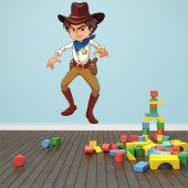 Naklejka ścienna Dla Dzieci - Kowboj