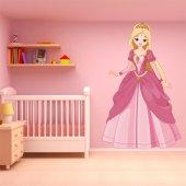 Naklejka ścienna Dla Dzieci - Księżniczka
