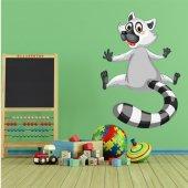 Naklejka ścienna Dla Dzieci - Lemur