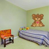Naklejka ścienna Dla Dzieci - Niedźwiadek