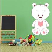 Naklejka ścienna Dla Dzieci - Niedźwiadek w śliniaku