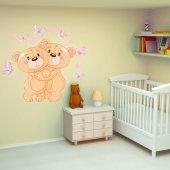Naklejka ścienna Dla Dzieci - Niedźwiadki