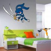 Naklejka ścienna Dla Dzieci - Ninja