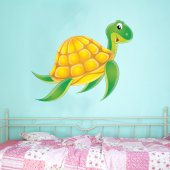 Naklejka ścienna Dla Dzieci - Żółw