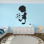 Naklejka ścienna Dla Dzieci - Piłka nożna