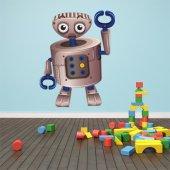 Naklejka ścienna Dla Dzieci - Robot Szczypce