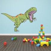 Naklejka ścienna Dla Dzieci - Tyranozaur