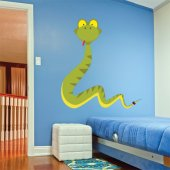 Naklejka ścienna Dla Dzieci - Wąż