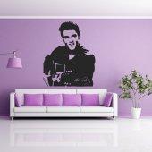 Naklejka ścienna - Elvis Presley