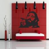 Naklejka ścienna - Fidel Castro