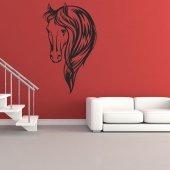Naklejka ścienna - Głowa Konia