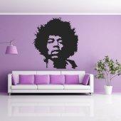 Naklejka ścienna - Jimmy Hendrix