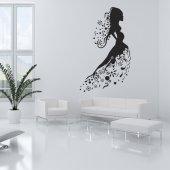 Naklejka ścienna - Kobieta Design