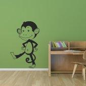 Naklejka ścienna - Małpa