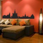 Naklejka ścienna - Moskwa Budynki