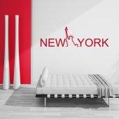 Naklejka ścienna - New York