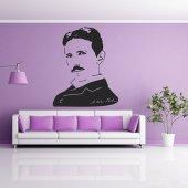 Naklejka ścienna - Nikola Tesla