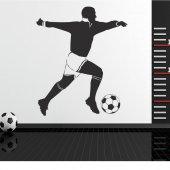 Naklejka ścienna - Piłkarz