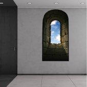 Naklejka ścienna - Widok z Okna