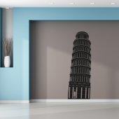 Naklejka ścienna - Wieża w Pizzie