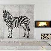 Naklejka ścienna - Zebra