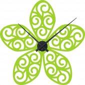 Naklejka ścienna Zegar - Kwiat Design