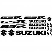 Naklejka Moto - Suzuki GSR 750