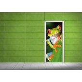 Naklejka na Drzwi - Żaba