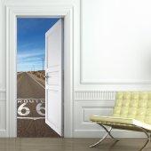 Naklejka na Drzwi - Droga 66