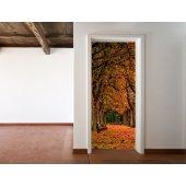 Naklejka na Drzwi - Jesień