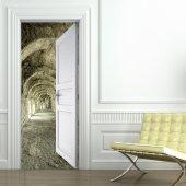 Naklejka na Drzwi - Korytarz