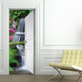 Naklejka na Drzwi - Zen