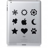 Naklejka na iPad 2 - Ikonki