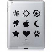 Naklejka na iPad 3 - Ikonki