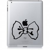 Naklejka na iPad 3 - Kokardka