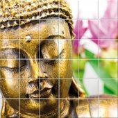 Naklejka na Płytki Ceramiczne - Budda