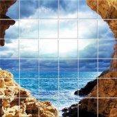 Naklejka na Płytki Ceramiczne - Morze