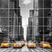 Naklejka na Płytki Ceramiczne - Taxi